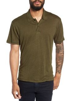 rag & bone Owen Regular Fit Linen Polo
