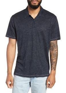 rag & bone Owen Slim Fit Linen Polo Shirt