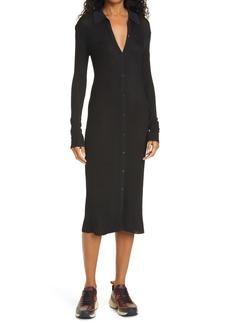 rag & bone Pacey Long Sleeve Midi Dress