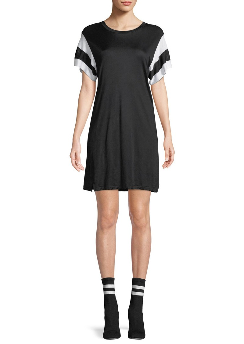 Rag & Bone Penny Crewneck Short-Sleeve Jersey Dress