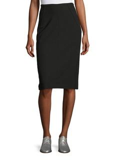 Rag & Bone Phoebe Back-Zip Pencil Skirt