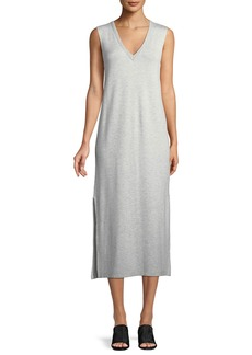Rag & Bone Phoenix Sleeveless V-Neck Midi Dress