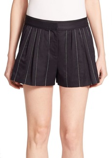 Rag & Bone Pico Pleated Striped Shorts