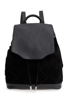 rag & bone Pilot Suede & Leather Backpack
