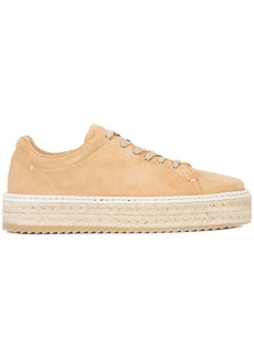 Rag & Bone platform espadrille sneakers - Brown