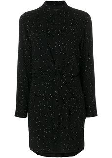 Rag & Bone polka dot shirt dress - Black