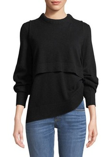 Rag & Bone Preston Cashmere Crewneck Sweater