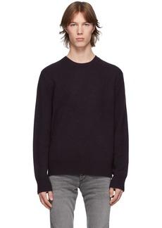 rag & bone Purple Cashmere Haldon Sweater