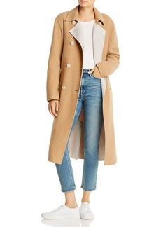 rag & bone Rach Reversible Wool-Blend Long Coat