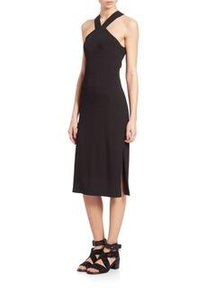 Rag & Bone Rachel Cutout Halter Dress