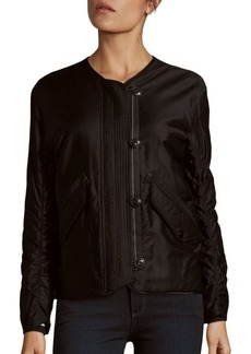 Rag & Bone Range Ruched Bomber Jacket