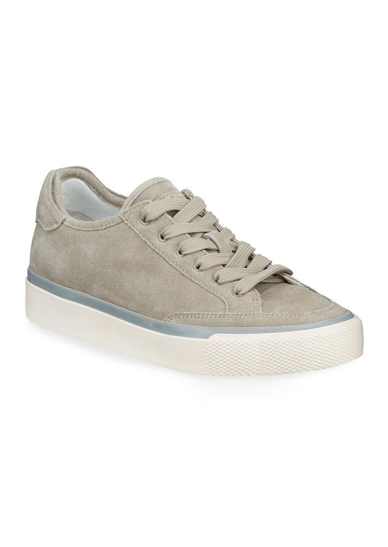 Rag & Bone RB Army Suede Low-Top Sneakers