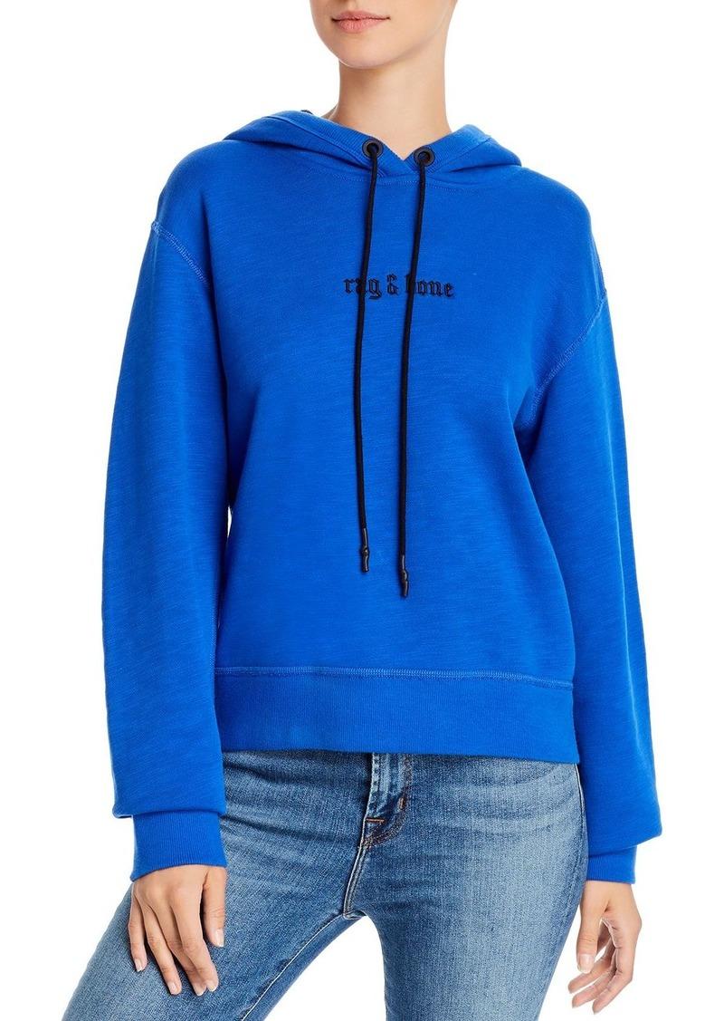 rag & bone RB Hooded Sweatshirt