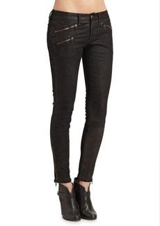 Rag & Bone RBW 23 Mixed-Media Skinny Jeans