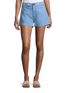 Rag & Bone RBW18 Slim-Fit High-Rise Shorts