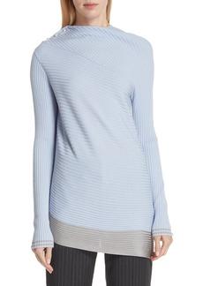 rag & bone Reanna Asymmetrical Merino Wool Sweater
