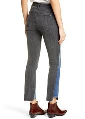 rag & bone Reconstructed Ripped Step Hem Jeans (Repair Bakton)