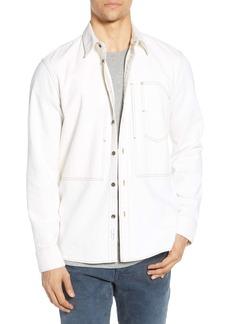 rag & bone Slim Fit Solid Chore Shirt