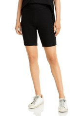rag & bone Ribbed Knit Bike Shorts