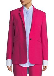 Rag & Bone Ridley Notched-Lapel Blazer Jacket