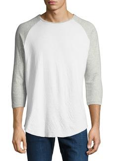 Rag & Bone Men's Rigby Two-Tone Baseball T-Shirt