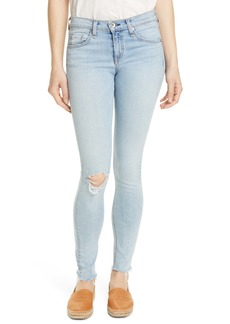 rag & bone Ripped Skinny Jeans (Ferry Whole)