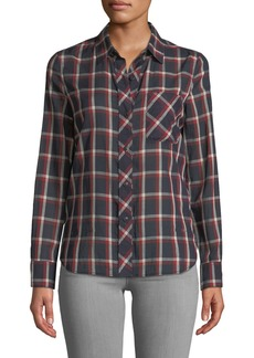 Rag & Bone Robbie Plaid Button-Front Shirt
