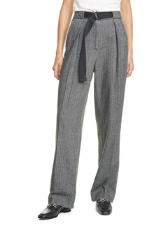 rag & bone Rochelle Herringbone Wool Blend Pants