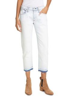 rag & bone Rosa Crop Boyfriend Jeans (Desert White)