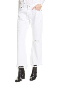 rag & bone Rosa Ripped Crop Flare Jeans