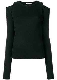 Rag & Bone Rosalind cold shoulder sweater - Black