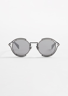Rag & Bone Round Metal Sunglasses