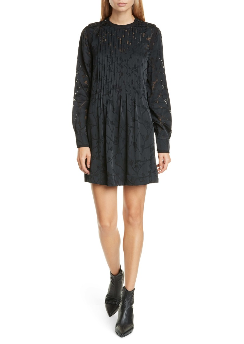 rag & bone Rubie Long Sleeve Minidress