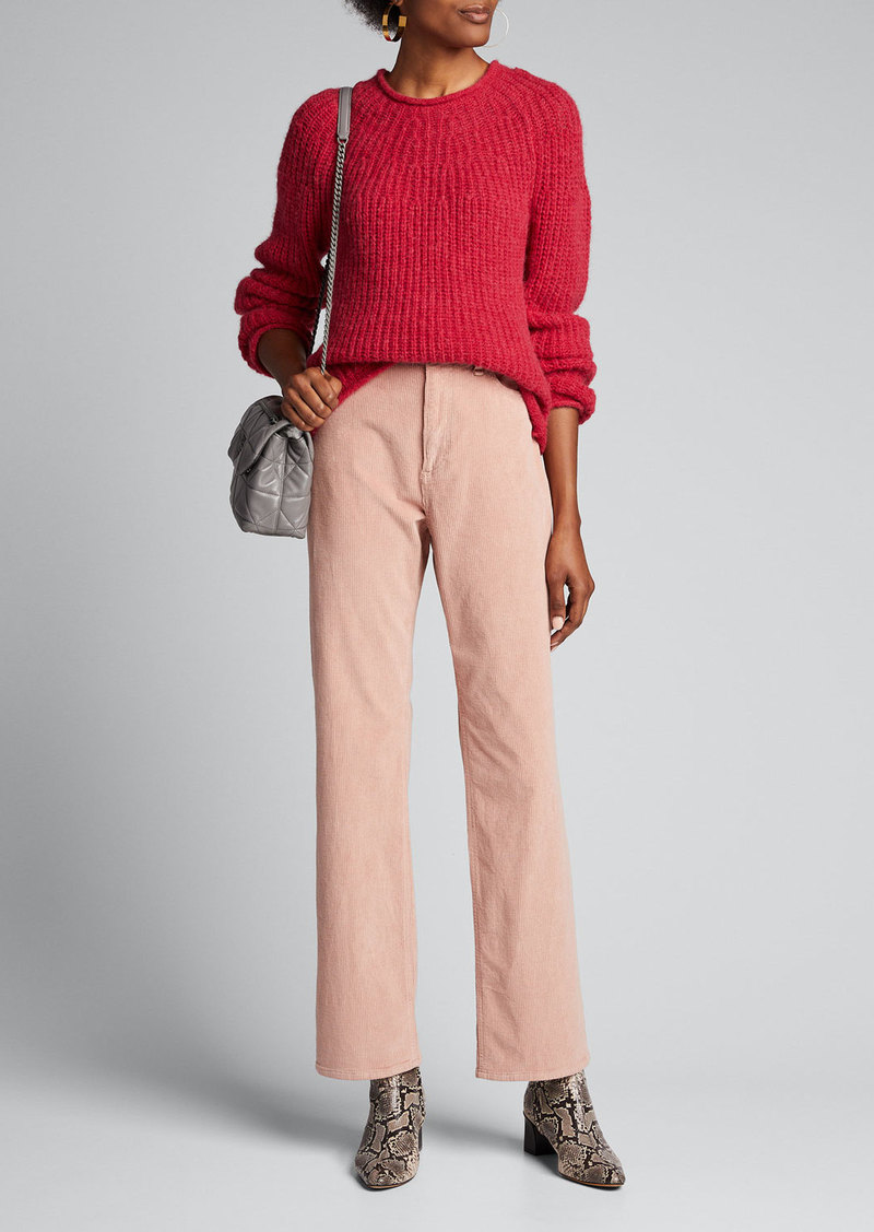 Rag & Bone Ruth Super High-Rise Straight Corduroy Pants