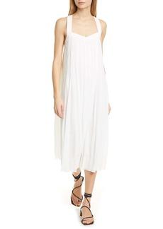 rag & bone Sabine Pleated Midi Dress