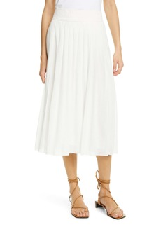 rag & bone Sabine Pleated Midi Skirt