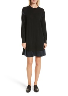 rag & bone Sadie Merino Wool Blend & Silk Dress