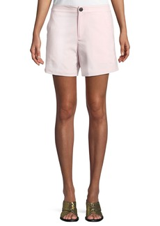 Rag & Bone Sage Tailored Wool-Stretch Shorts