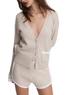 rag & bone Serena Merino Wool Blend Cardigan
