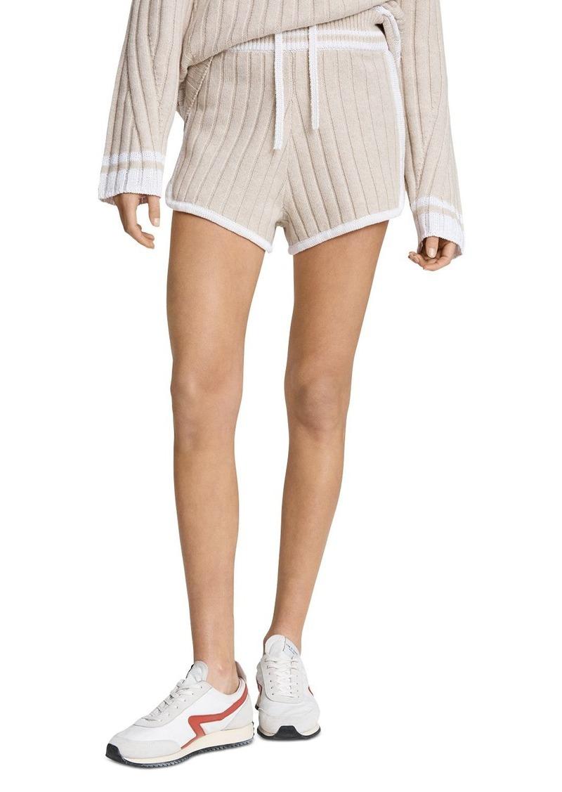 rag & bone Serena Ribbed Knit Shorts