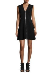 Rag & Bone Sharon Sleeveless Zip-Front Jersey Dress