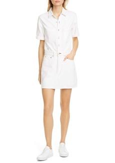 rag & bone Short Sleeve Shirtdress