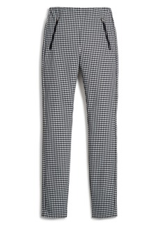 rag & bone Simone Gingham Slim Crop Pants