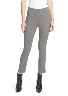 rag & bone Simone Herringbone Slim Crop Pants