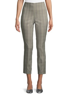 Rag & Bone Simone High-Rise Slim Plaid Pants