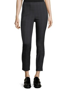Rag & Bone Simone Plaid Skinny-Leg Cropped Pants