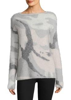 Rag & Bone Sinclair Camo Sweater