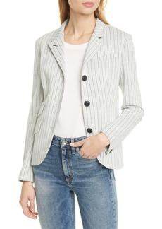 rag & bone Slade Pinstripe Cotton Blazer