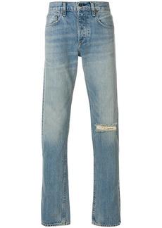 rag & bone slash knee jeans