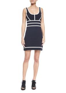 Rag & Bone Sleeveless Two-Tone Della Dress